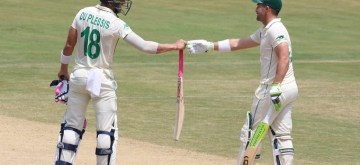 Vizag Test: Elgar, Faf come to Proteas rescue.