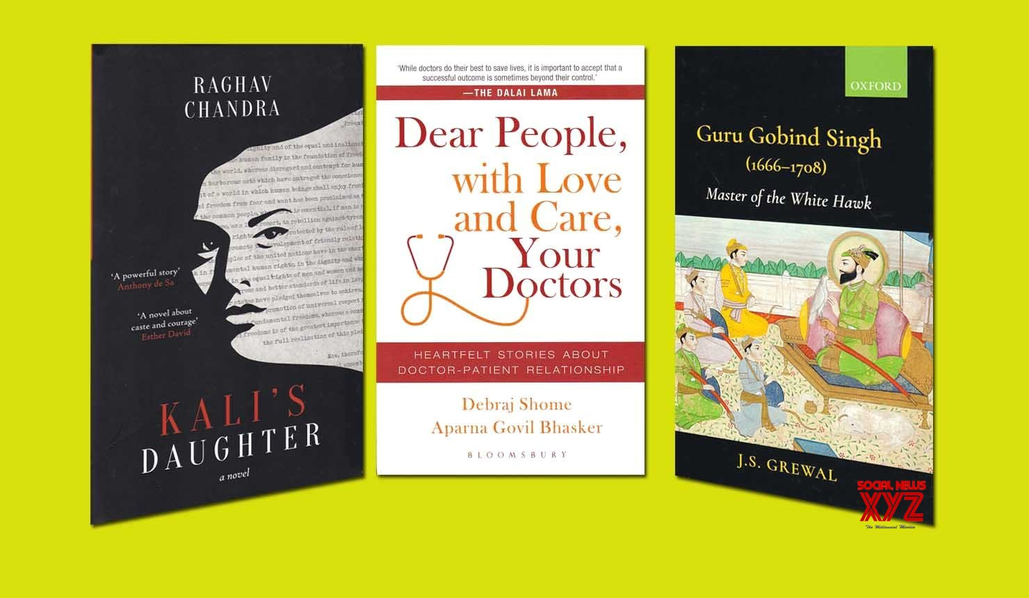 Of Guru Gobind Singh and the creation of the Khalsa, the churning within a Dalit IFS officer, heartfelt stories by doctors & patients