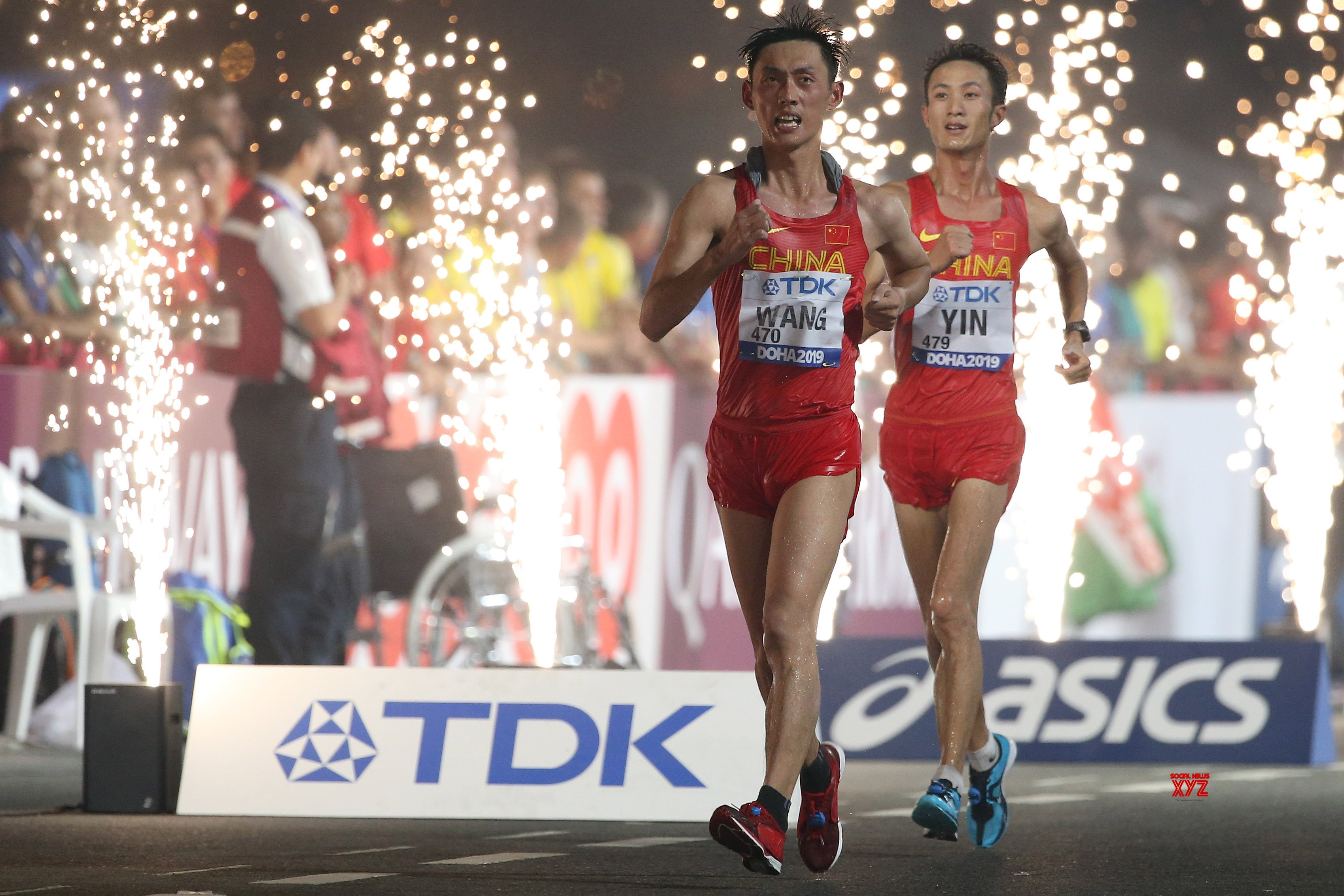 QATAR - DOHA - ATHLETICS - IAAF WORLD CHAMPIONSHIPS - MEN - 20KM RACE WALK #Gallery