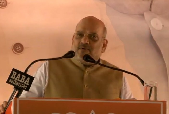 Bhiwani: Amit Shah addresses public meeting in Haryana #Gallery