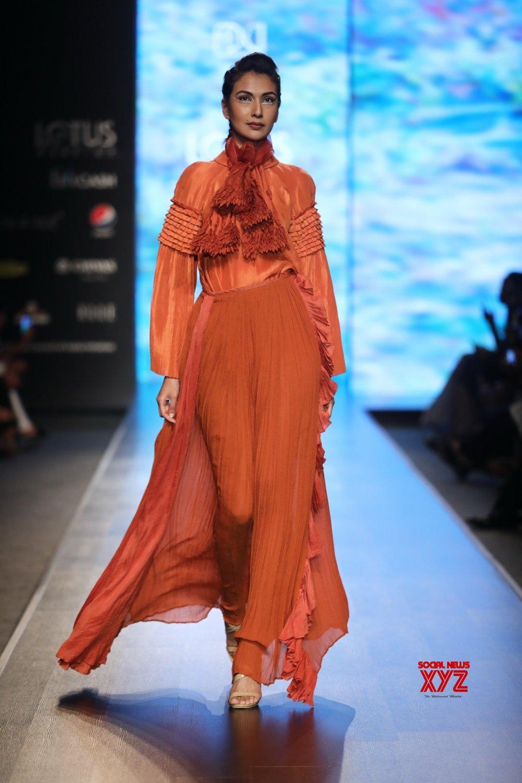 New Delhi: Lotus Make - up India Fashion Week - Nidhi Yasha #Gallery