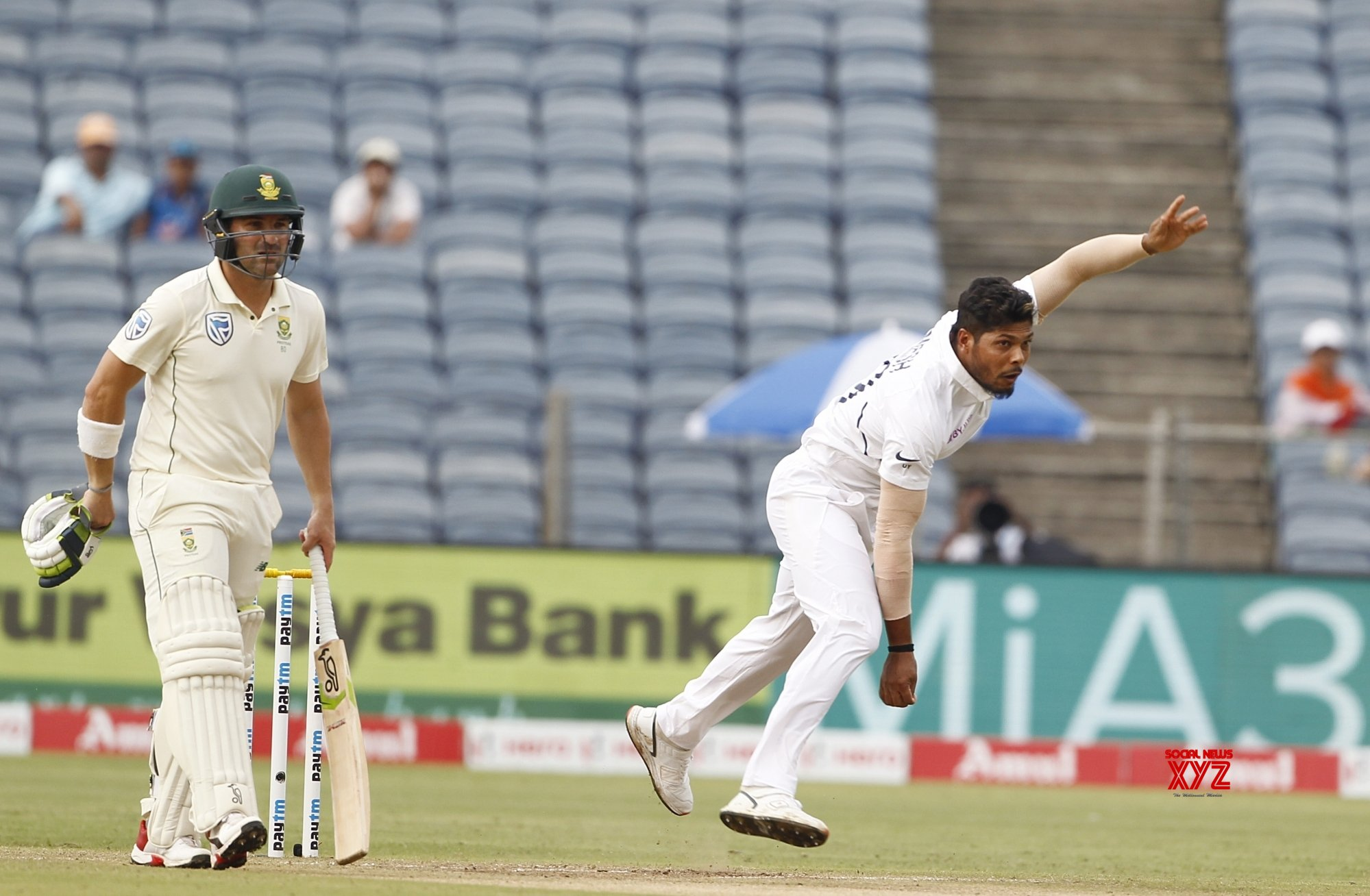 Pune: 2nd Test - India Vs South Africa - Day 2 (Batch - 21) #Gallery