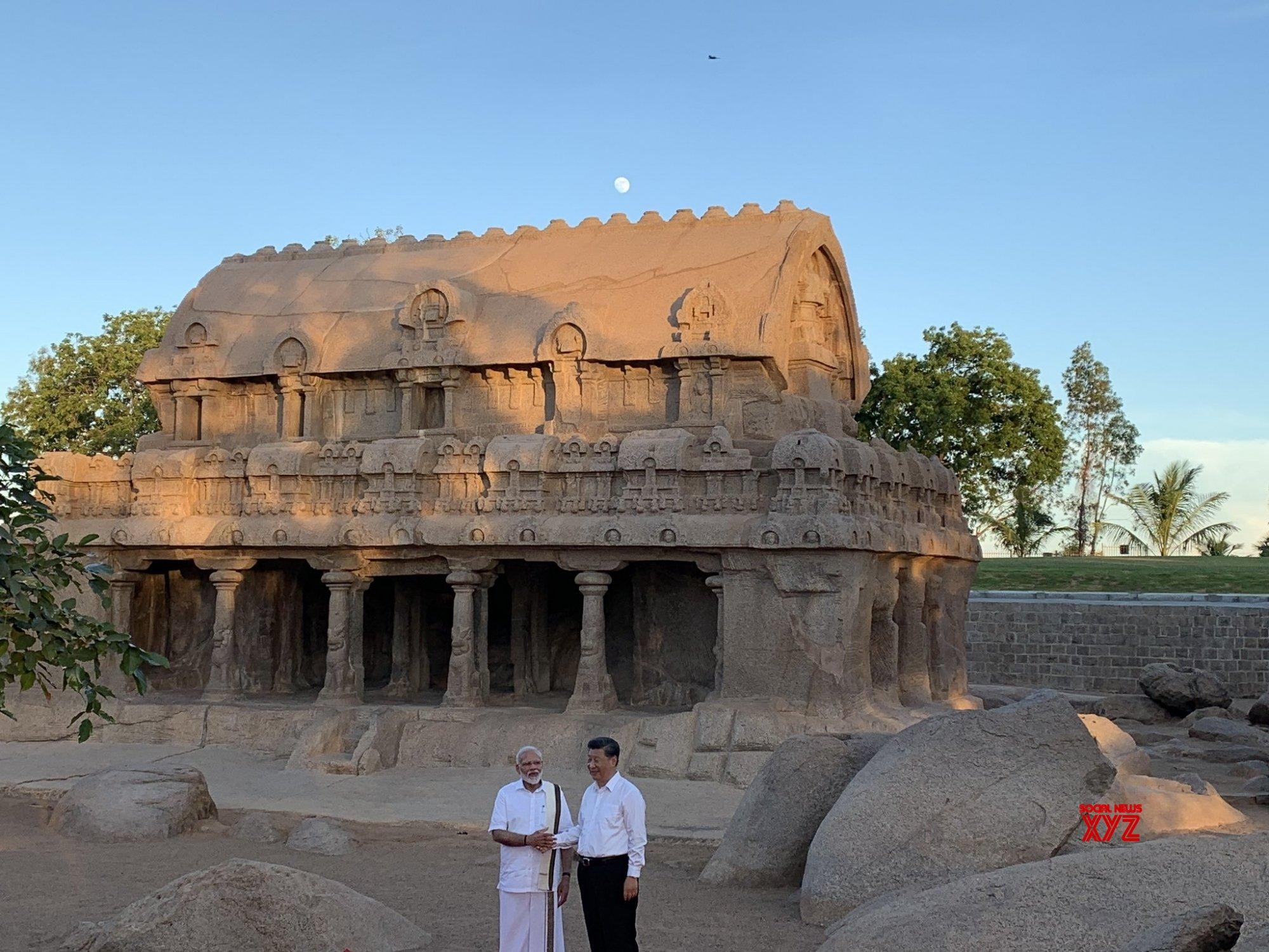 Mahabalipuram: PM Modi, Chinese President visit Pancha Rathas complex #Gallery