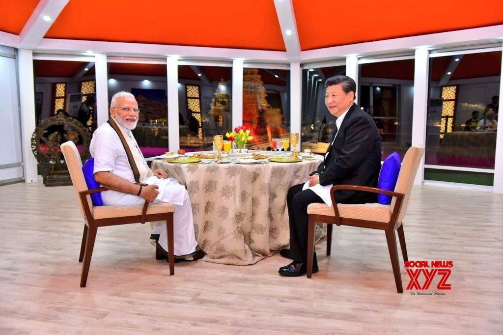 Mahabalipuram: PM Modi, Chinese President Xi Jinping at one - on - one tete - a - tete #Gallery