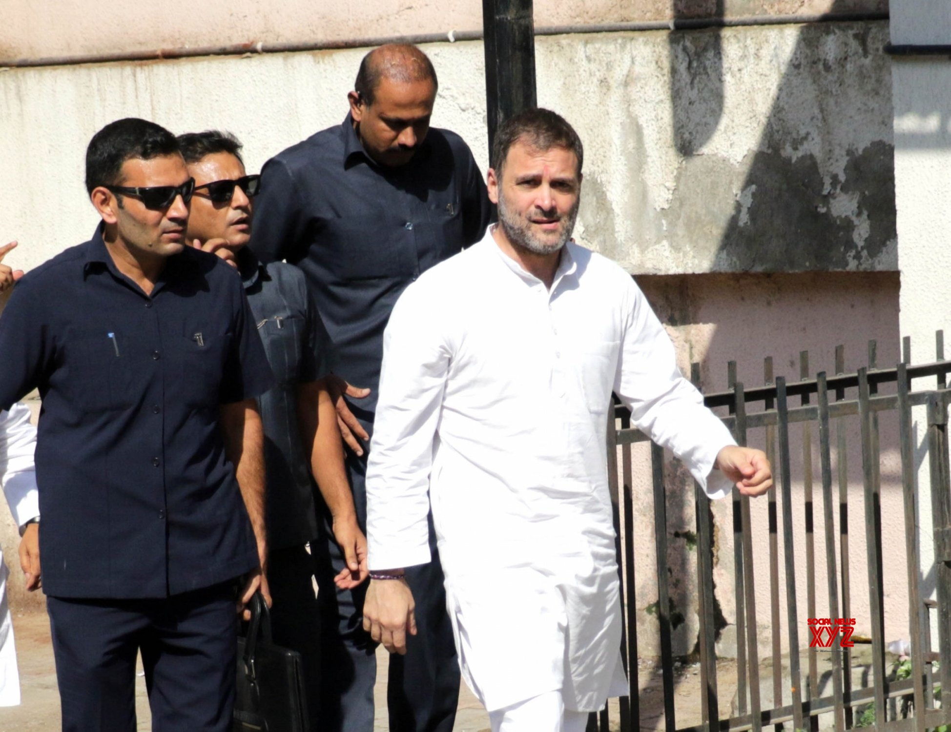 Ahmedabad: Rahul Gandhi in Gujarat to appear in two criminal defamation suits #Gallery