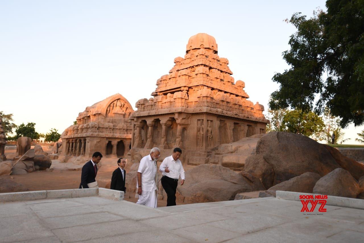 Mahabalipuram: PM Modi, Chinese President visit Pancha Rathas complex (Batch - 2) #Gallery