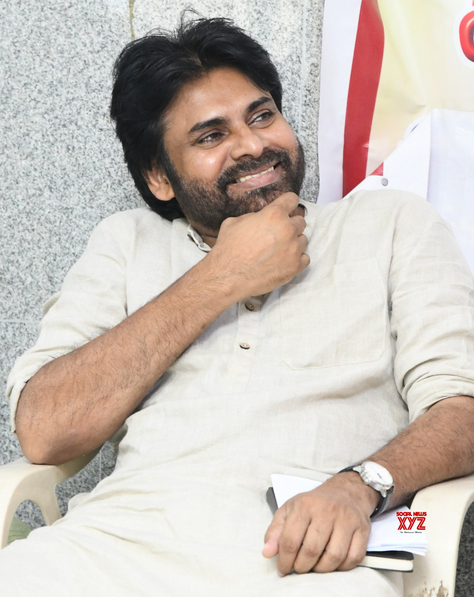 JanaSena Chief Pawan Kalyan At GD Agarwal's Commemoration Meet In Haridwar - Gallery