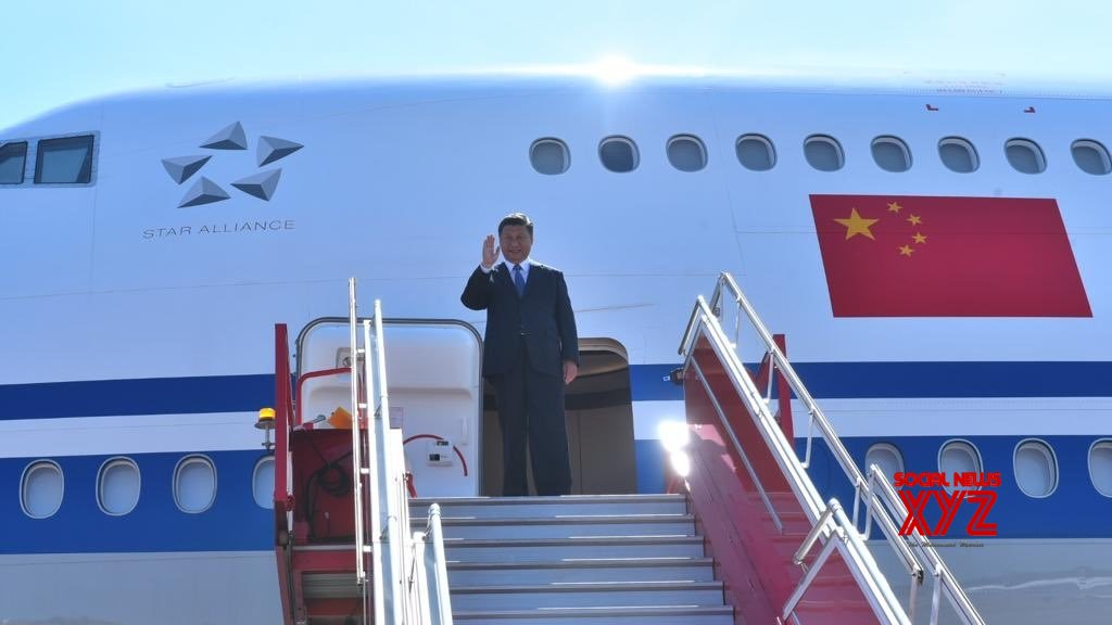 Chennai: Xi Jinping arrives in India #Gallery