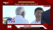 PM Modi dons traditional Tamil Nadu outfit for Jinping meet - TV9 [HD] (Video)