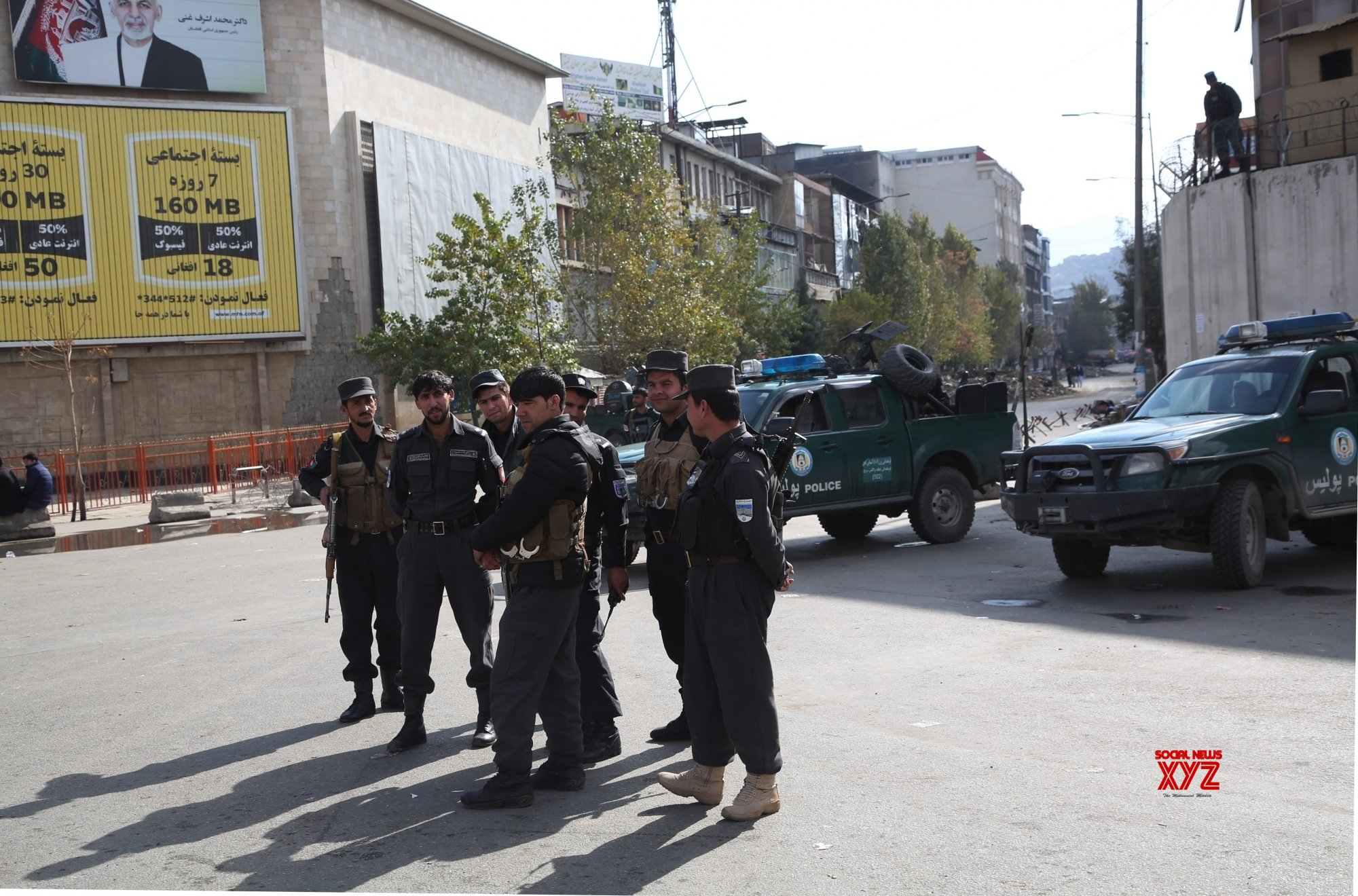 Four arrested for destroying power pylon in Afghanistan