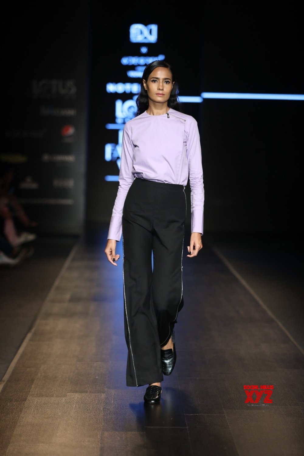New Delhi: Lotus Make - up India Fashion Week - Day 4 - Notebook's collection showcased (Batch - 2) #Gallery