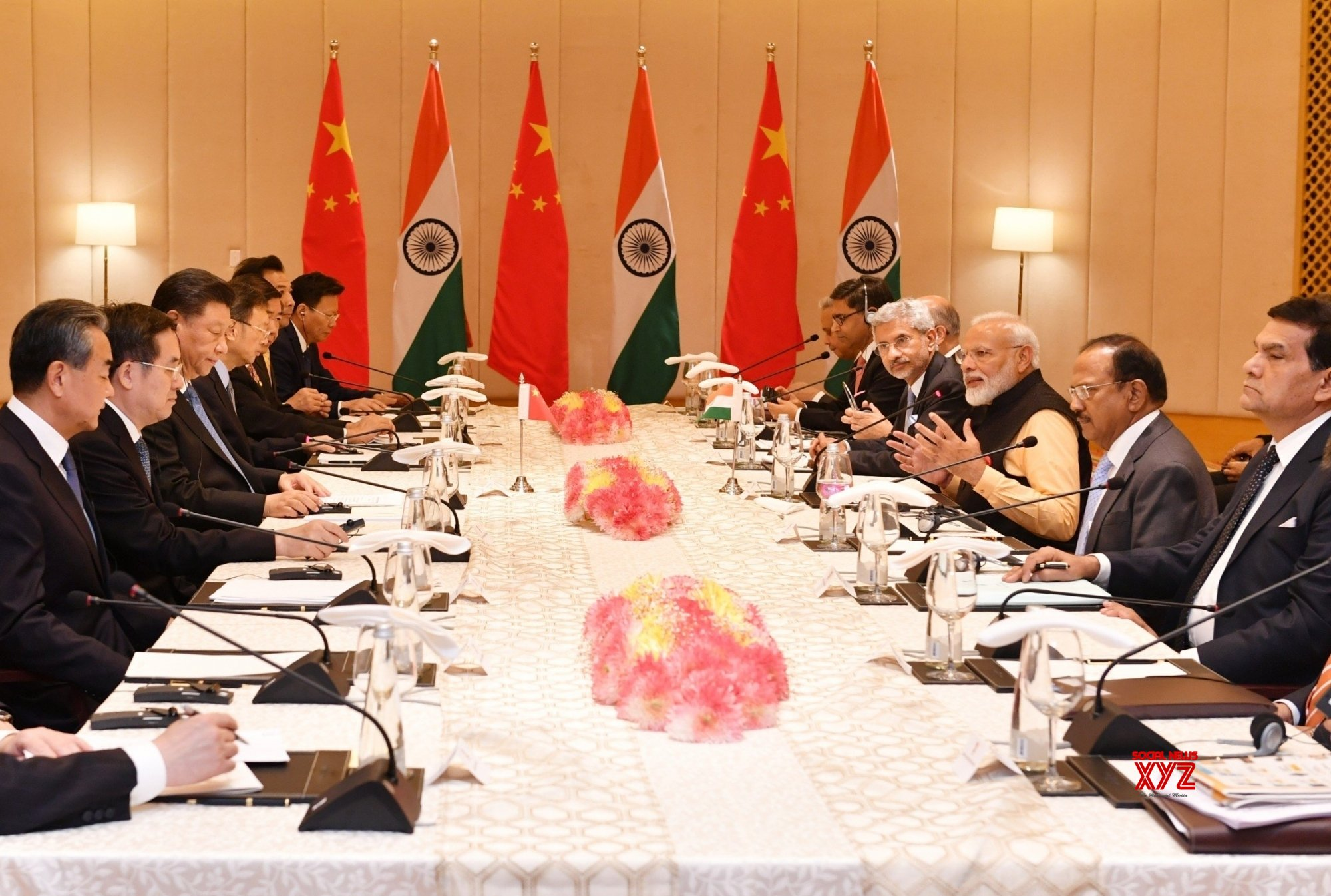 Mahabalipuram: India - China delegation level talks #Gallery