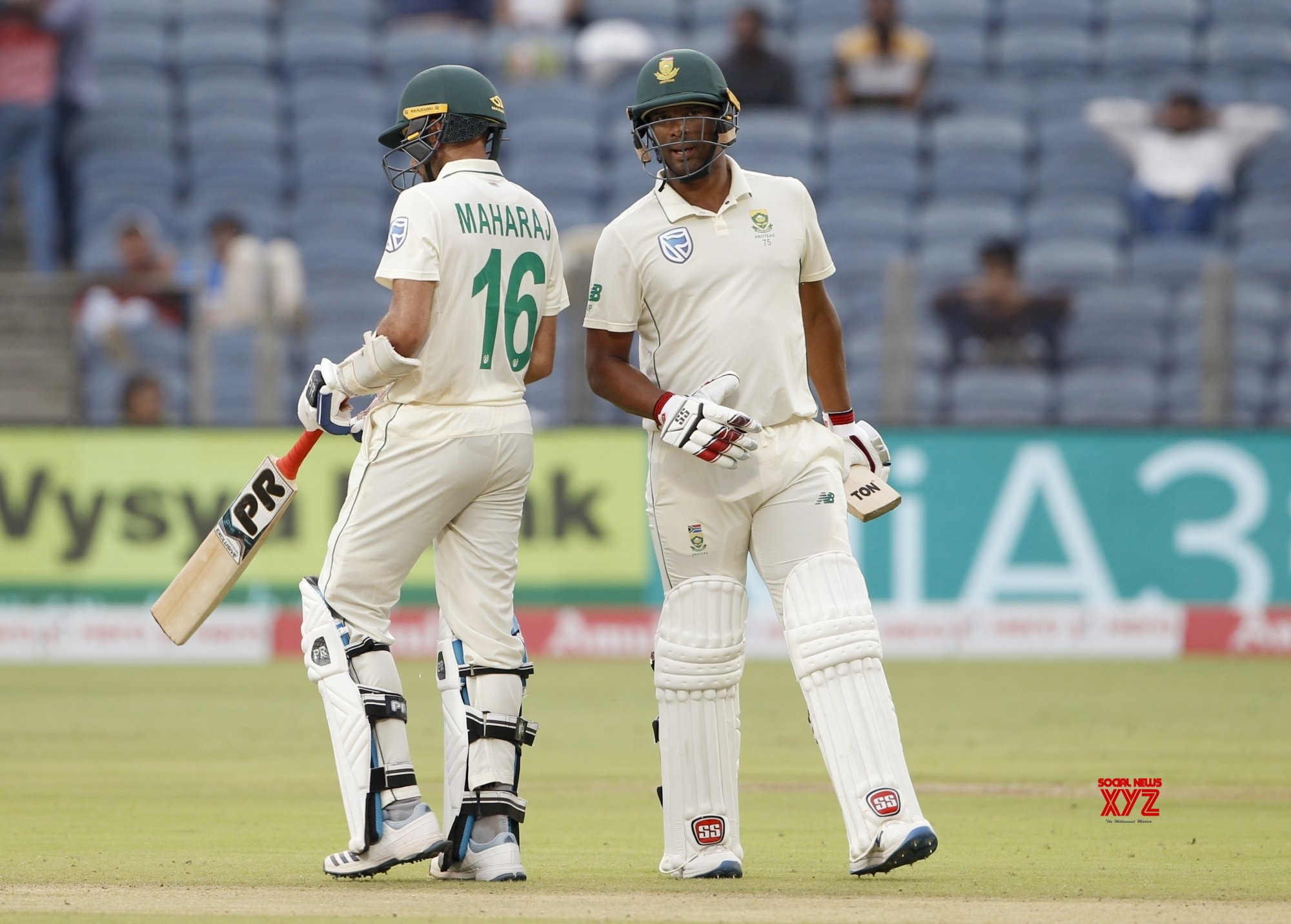 Pune: 2nd Test - India Vs South Africa - Day 3 (Batch - 20) #Gallery