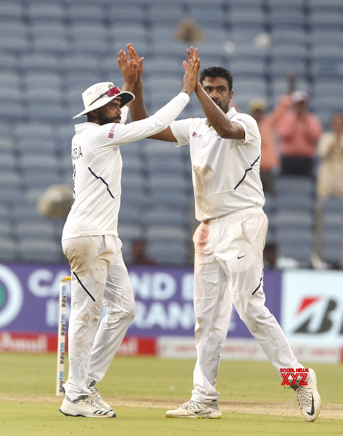 Pune: 2nd Test - India Vs South Africa - Day 3 (Batch - 23) #Gallery