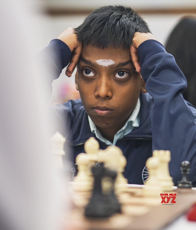 Mumbai: World Youth Chess Championship 2019 - Praggnanandhaa R Vs Valentin Buckels #Gallery