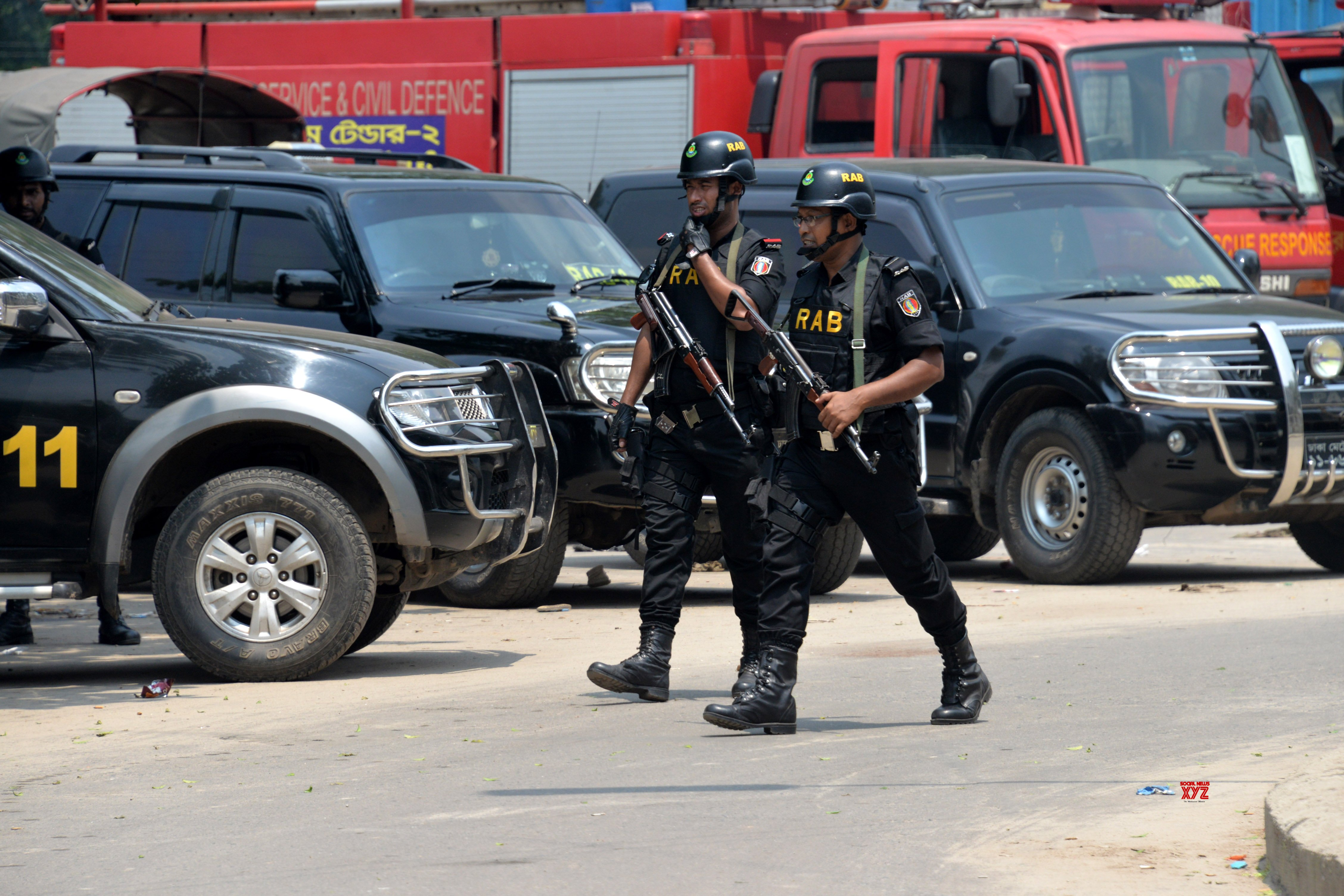 3 Bangladeshi security personnel held, released later