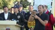Los Angeles Mayor: Fire conditions still dangerous [HD] (Video)