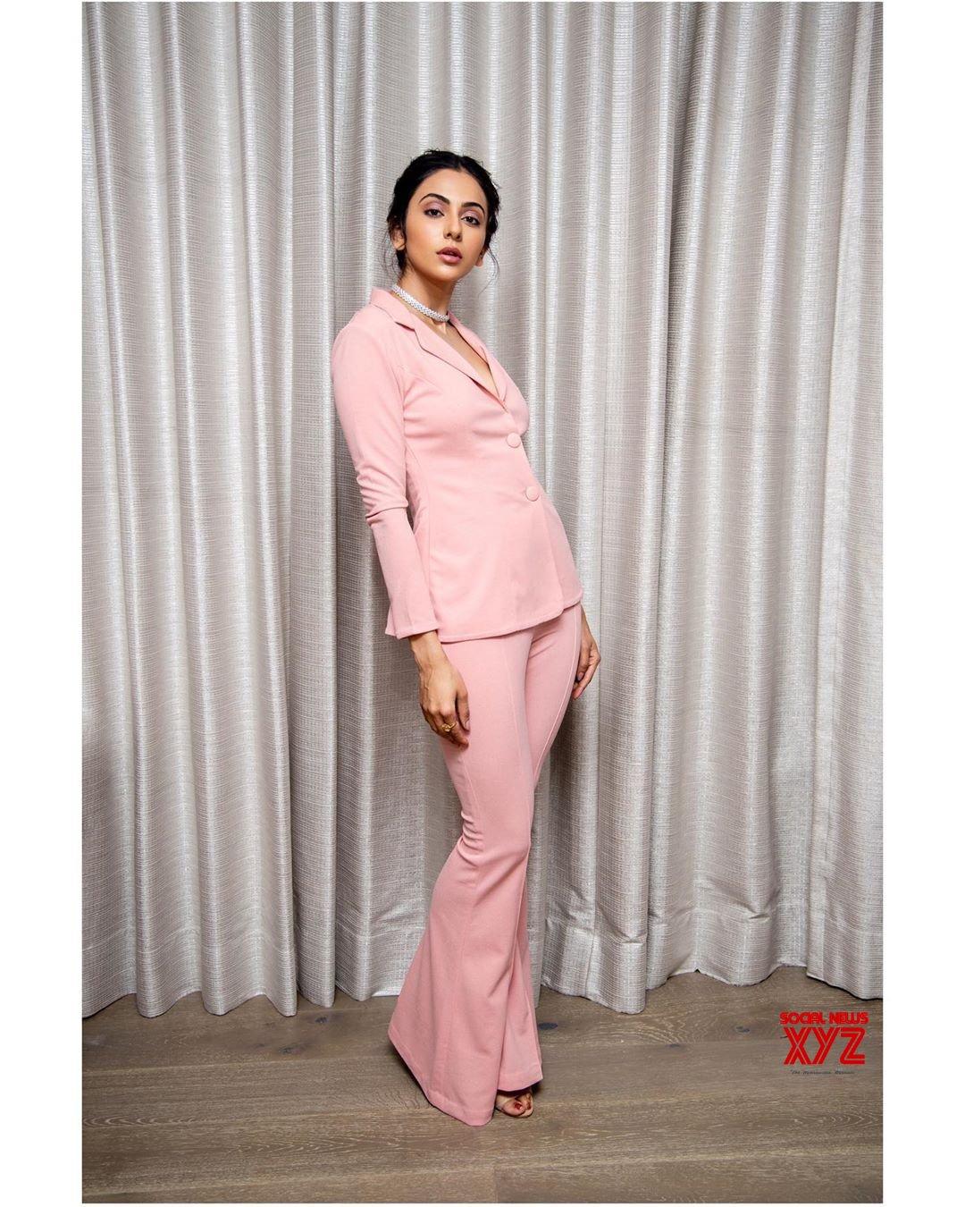 Actress Rakul Preet Singh Glam Stills From Startup Summit 2019