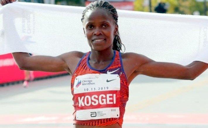 Kenya's Kosgei breaks world record at Chicago Marathon