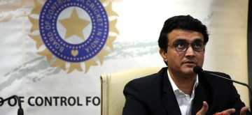 Mumbai: New BCCI President Sourav Ganguly addresses a press conference at BCCI Headquarters in Mumbai on Oct 23, 2019. (Photo: IANS)