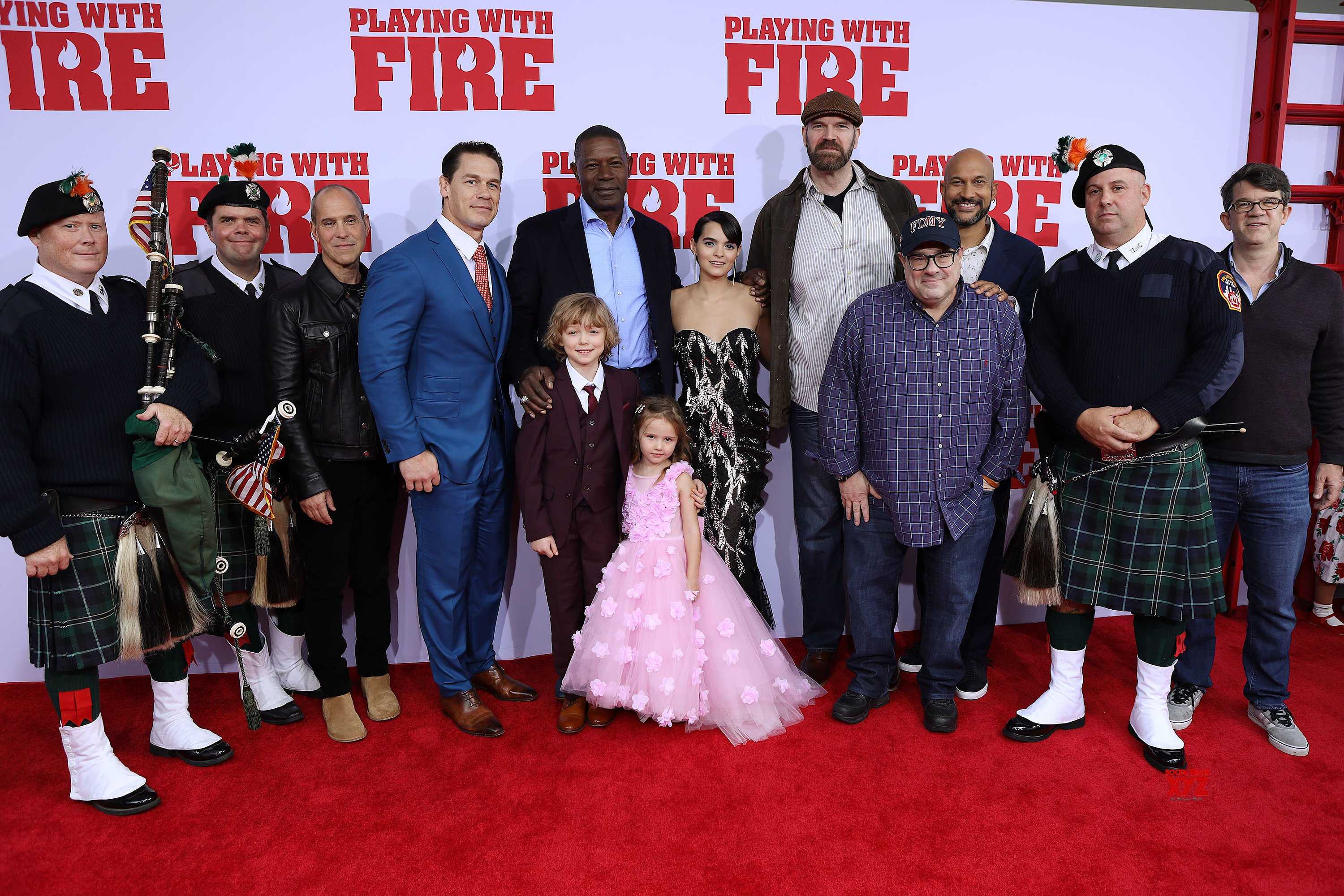 Playing With Fire Movie NY Premiere HD Gallery