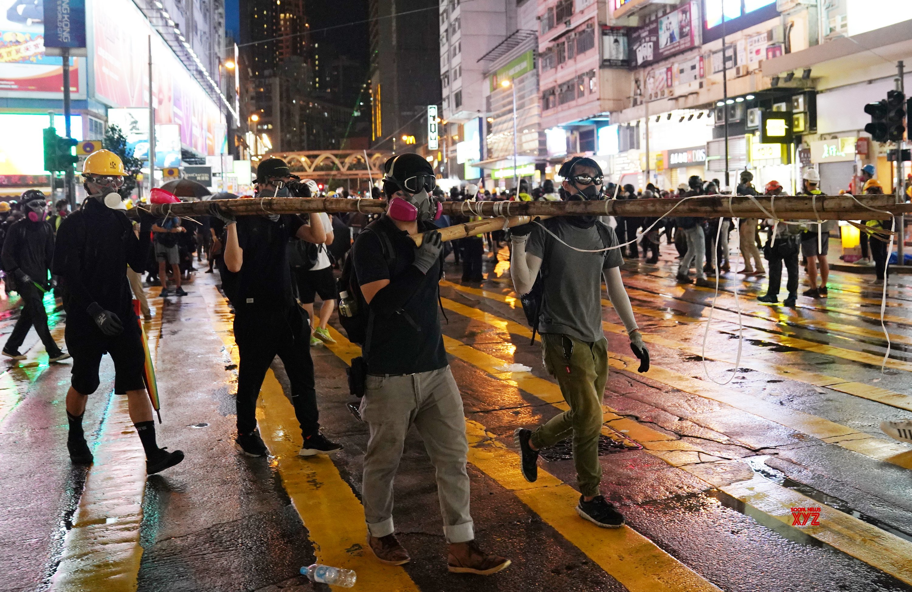 HK oppn to defy police ban on annual pro-democracy rally