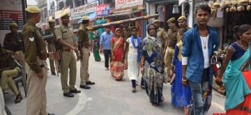 Ayodhya: Heavy security deployment ahead of the Supreme Court verdict in the Ayodhya dispute case, in Uttar Pradesh's Ayodhya on Nov 6, 2019. (Photo: IANS)
