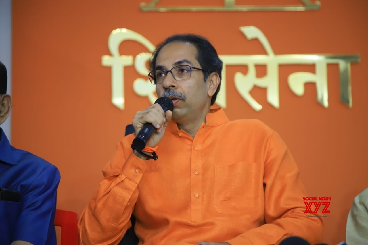 Mumbai: Uddhav Thackeray's press conference #Gallery