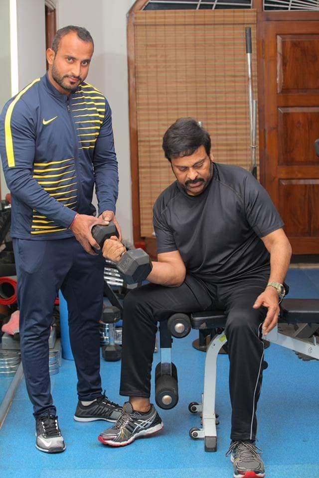 Chiru hits the gym for Koratala Siva's project