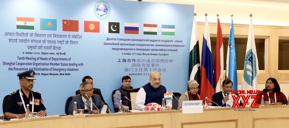 New Delhi: Amit Shah chairs 10th Meeting of Heads of Authorities of Member States of SCO (Batch - 2) #Gallery