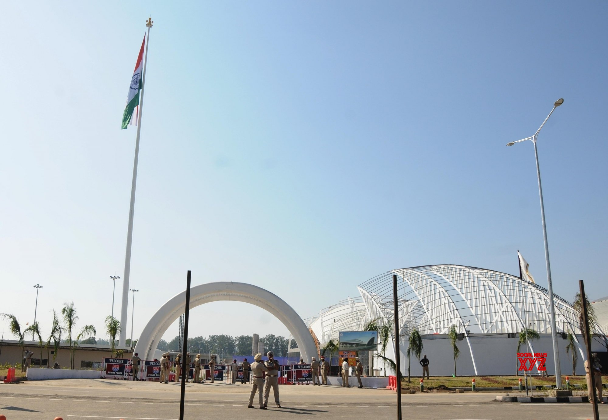 Gurdaspur: Newly inaugurated Integrated Check Post of Kartarpur Corridor in Punjab #Gallery