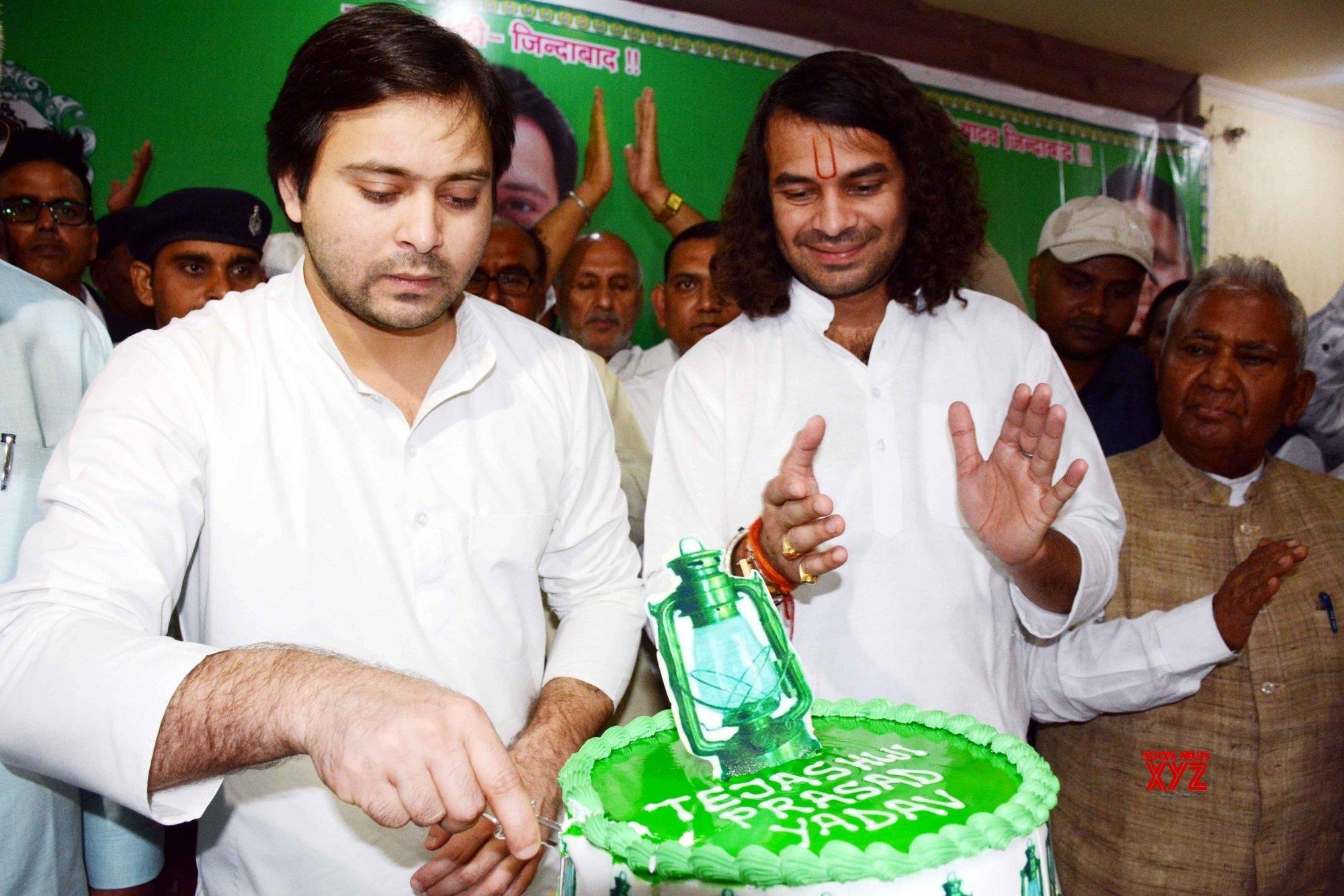 Patna: Tejashwi Yadav's birthday celebrations #Gallery