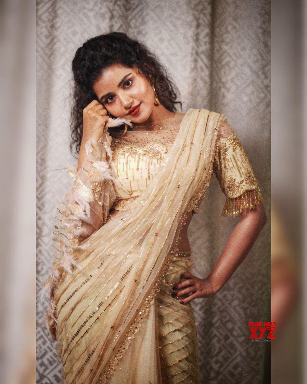 Actress Anupama Parameswaran Stunning New Stills