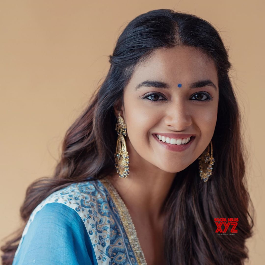 Actress Keerthy Suresh Lovely Stills For Rangde Movie Pooja