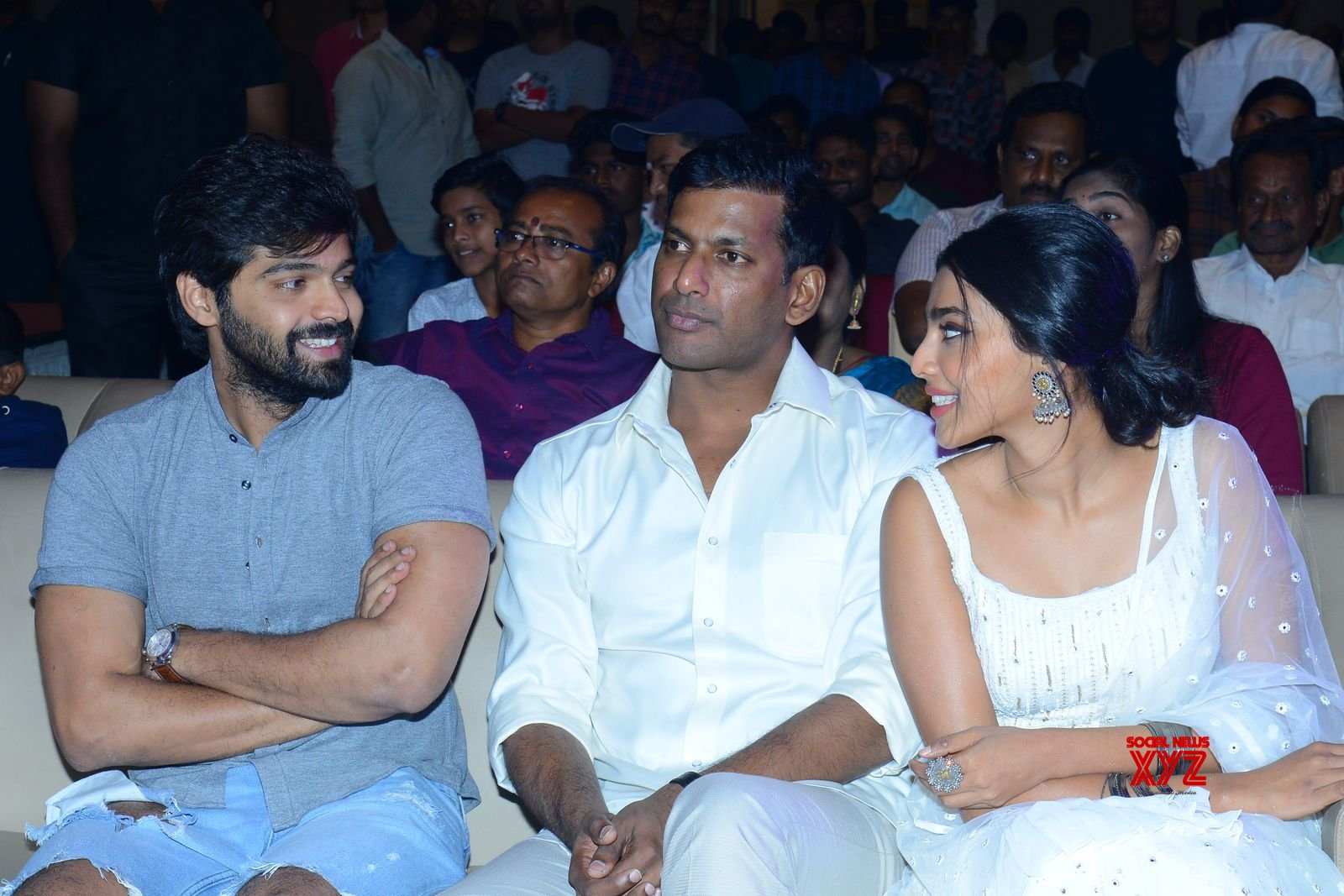 Vishal's Action Movie Pre Release Event Gallery Set 2