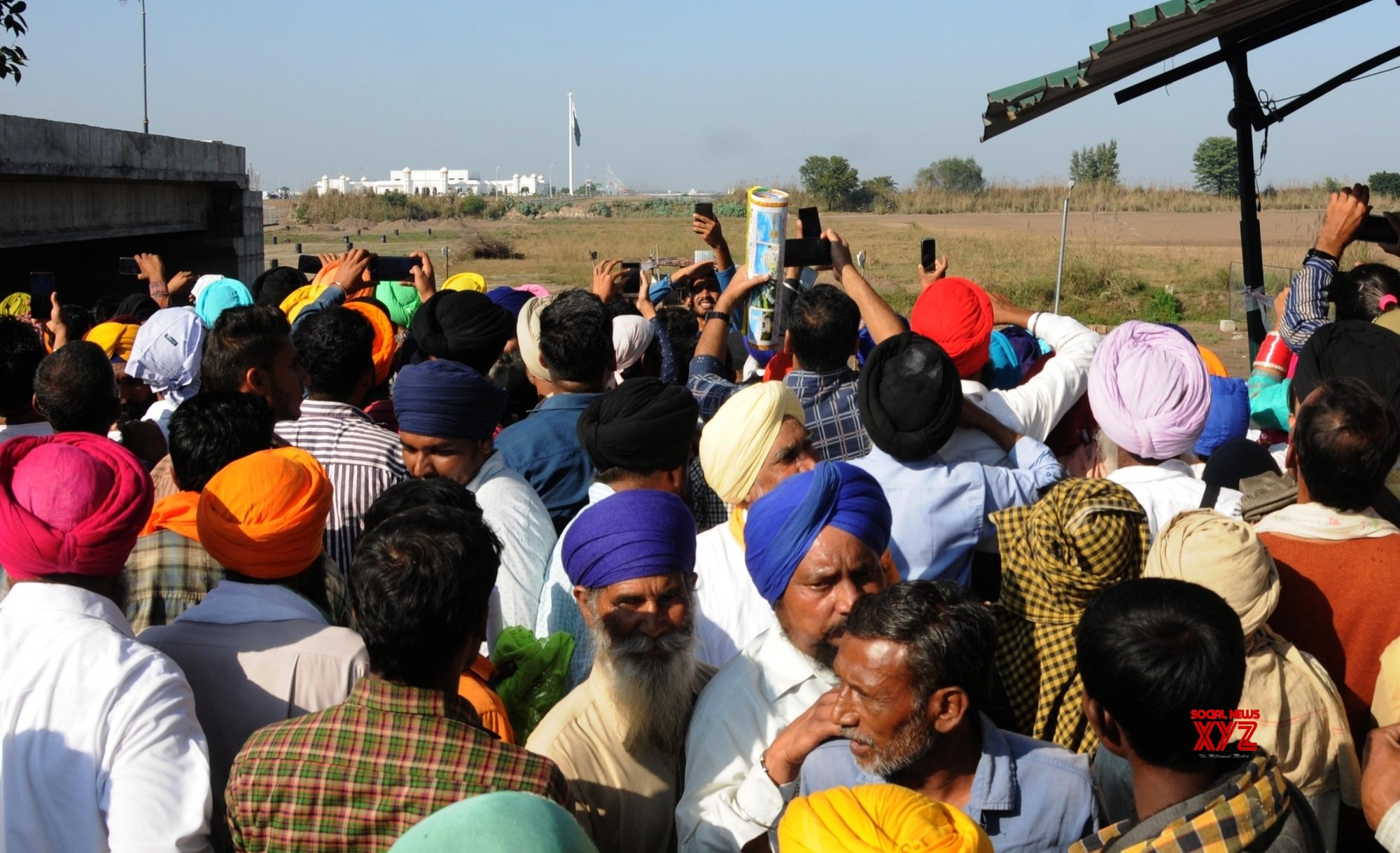 Kartarpur (Punjab): Indian pilgrims reach Kartarpur in Pakistan #Gallery