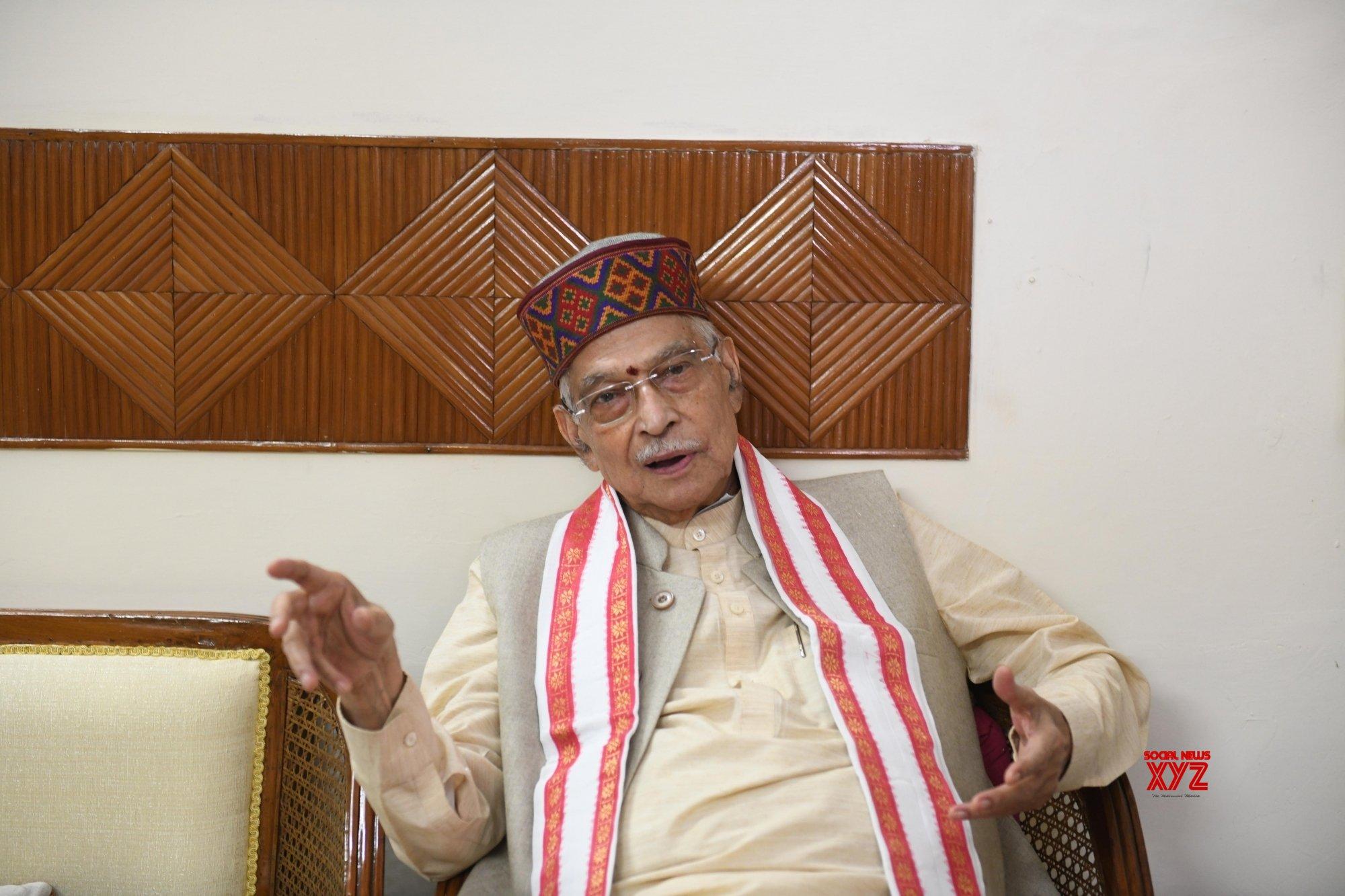 New Delhi: Murli Manohar Joshi talks to the media #Gallery
