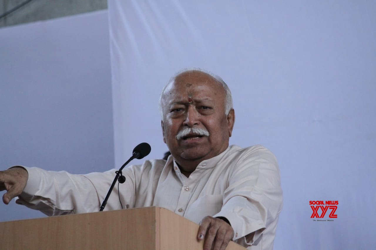 New Delhi: Mohan Bhagwat's press conference (Batch - 2) #Gallery