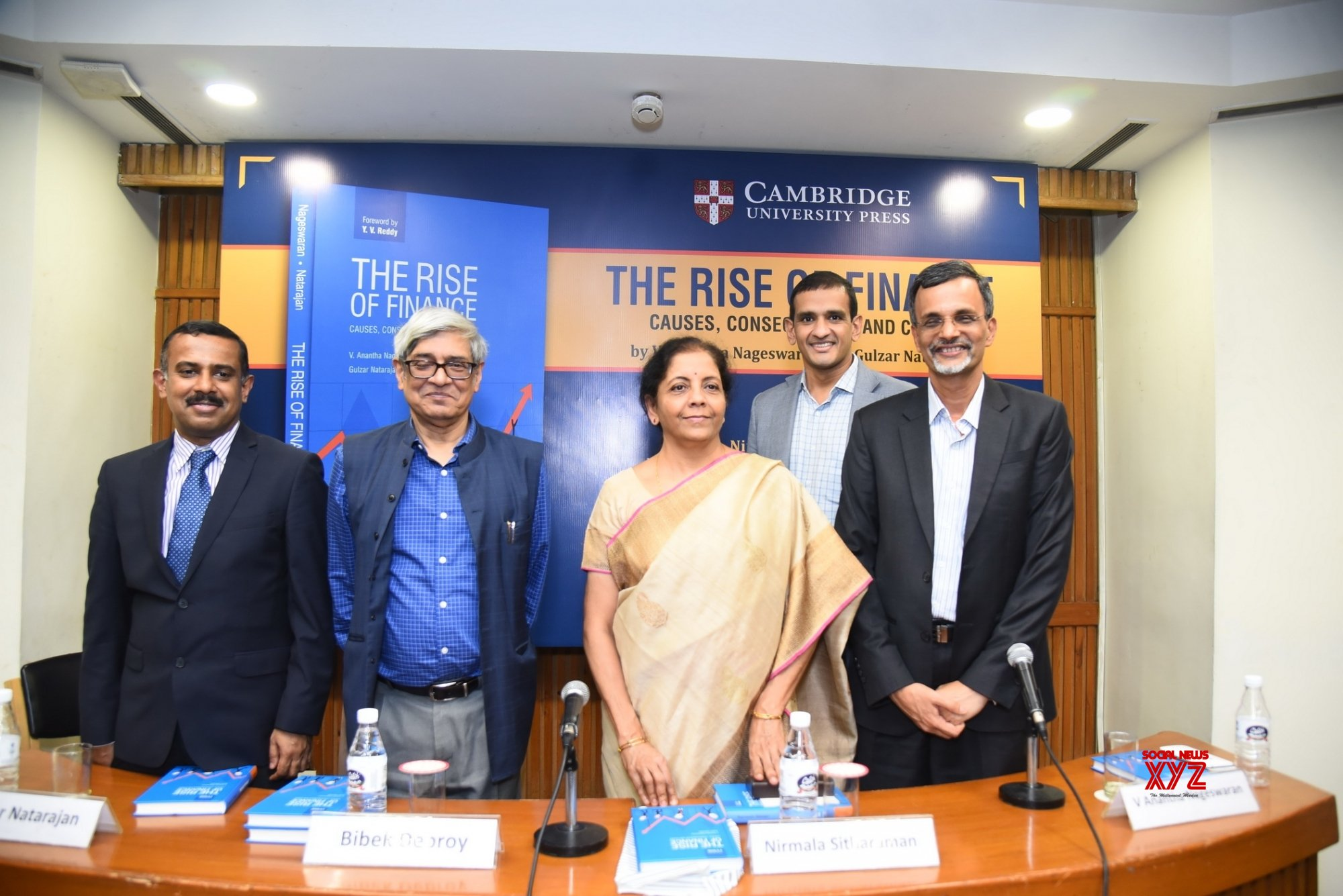 New Delhi: Book launch - 'The Rise of Finance: Causes, Consequences and Cure' #Gallery