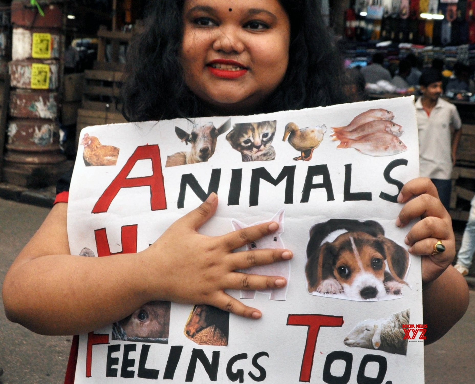 Kolkata: Animal Lovers Forum's protest #Gallery