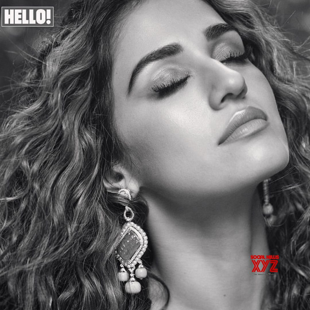 Actress Disha Patani Hot New Stills From Hello India Magazine Covershoot