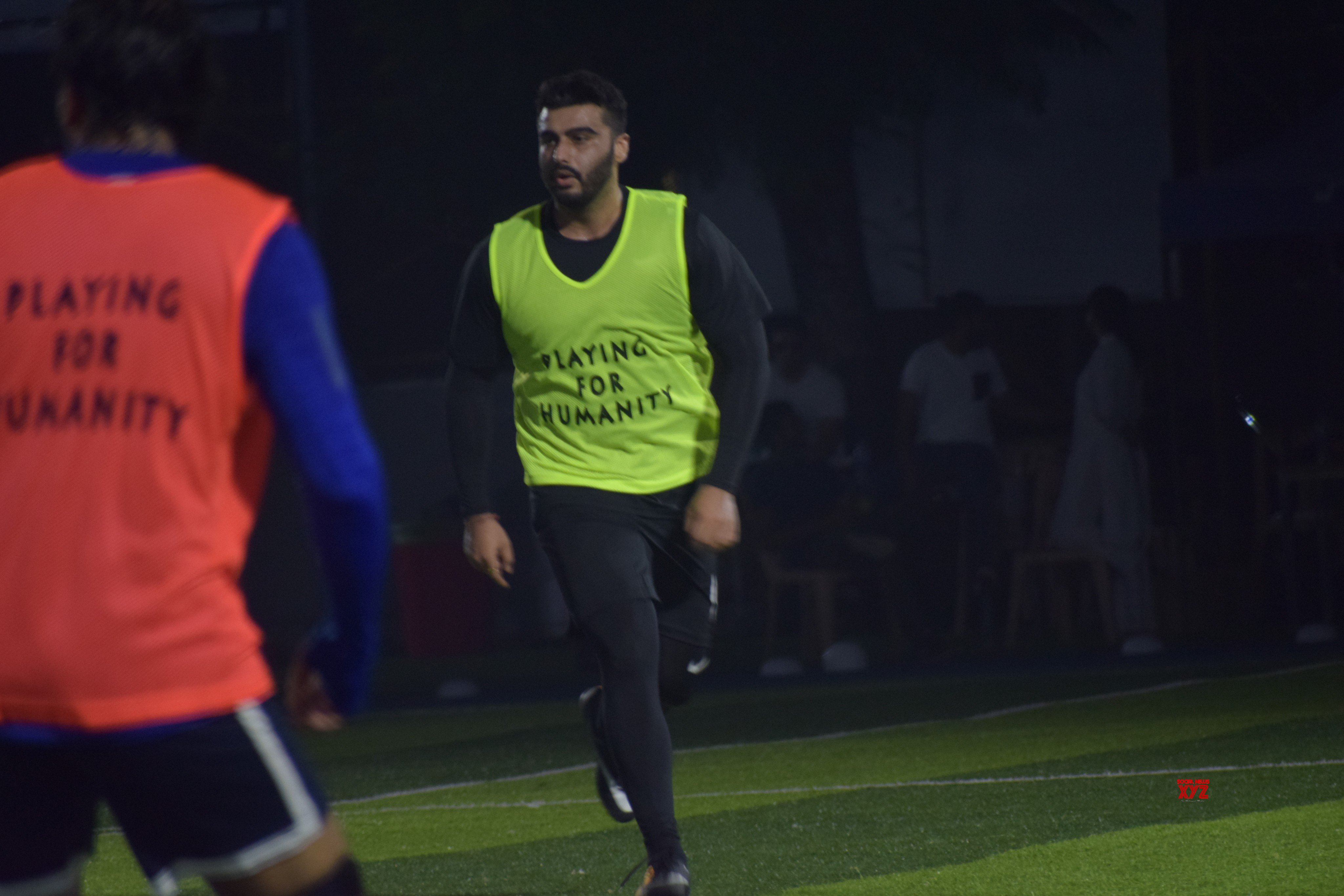 Arjun Kapoor And Other Bollywood Celebs Playing Football At Juhu - Gallery