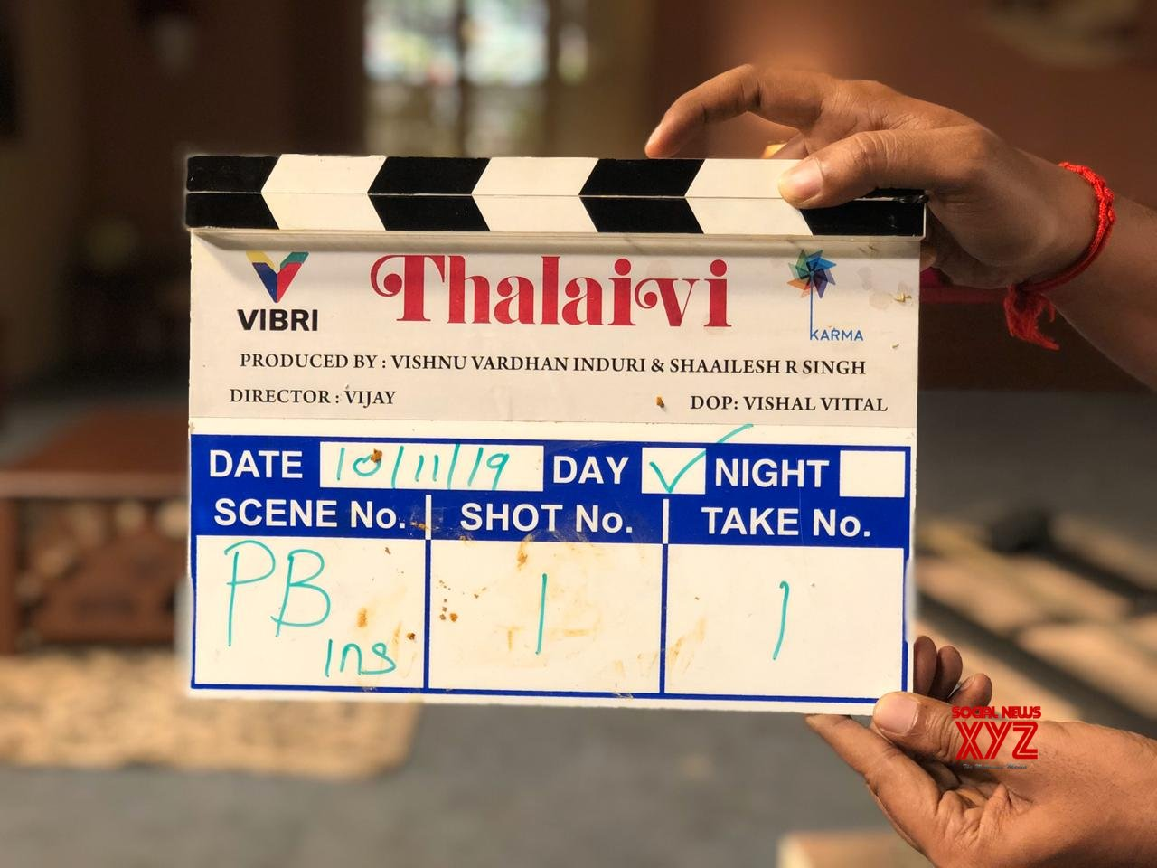 Jayalalitha Biopic Titled Thalaivi Shoot Begins Today In Chennai