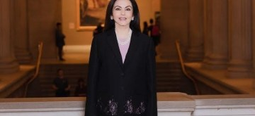 New York: Reliance Foundation Founder and Chairperson Nita Ambani elected to the Board of New York's Metropolitan Museum of Art – the First Indian Trustee in the Museum's 150 Year history. (Photo: IANS)