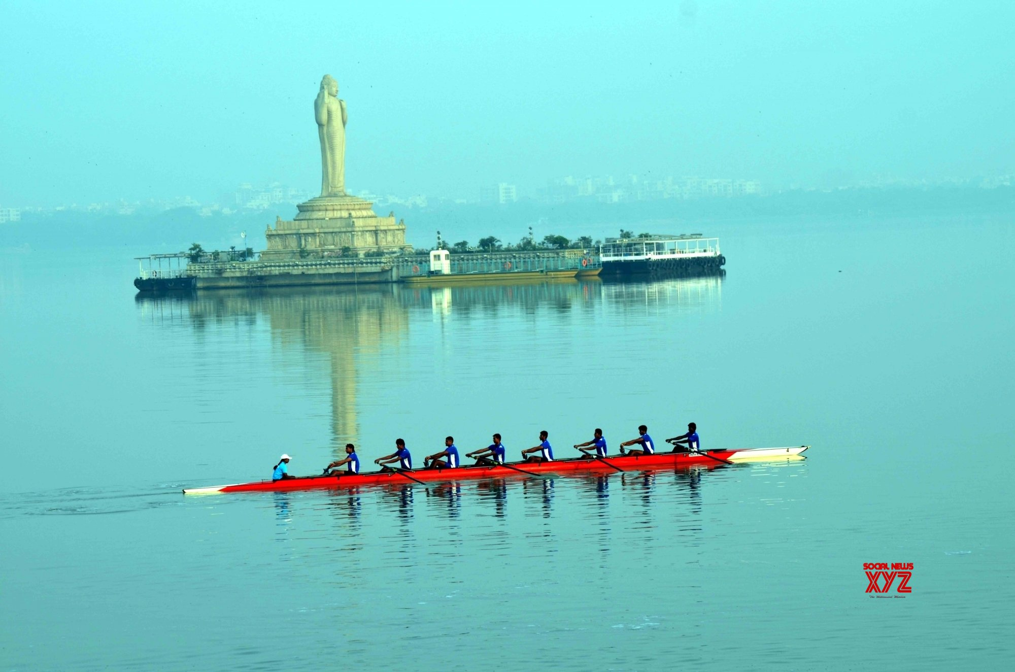 Hyderabad: National Rowing Championships 2019 #Gallery