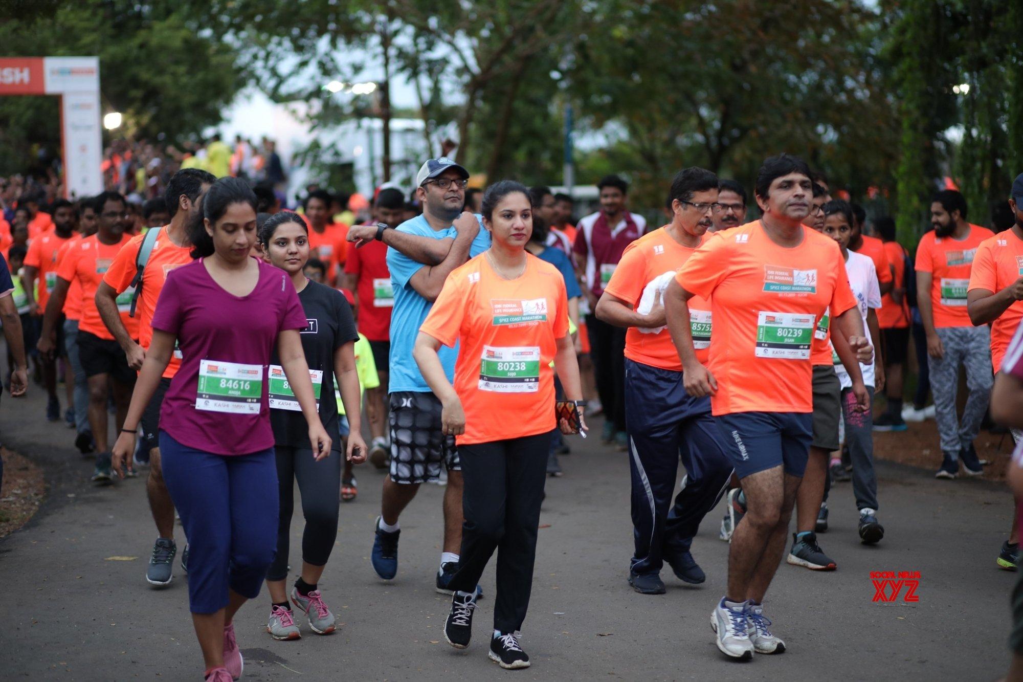 Kochi: IDBI Federal Life Insurance Spice Coast Marathon 2019 #Gallery