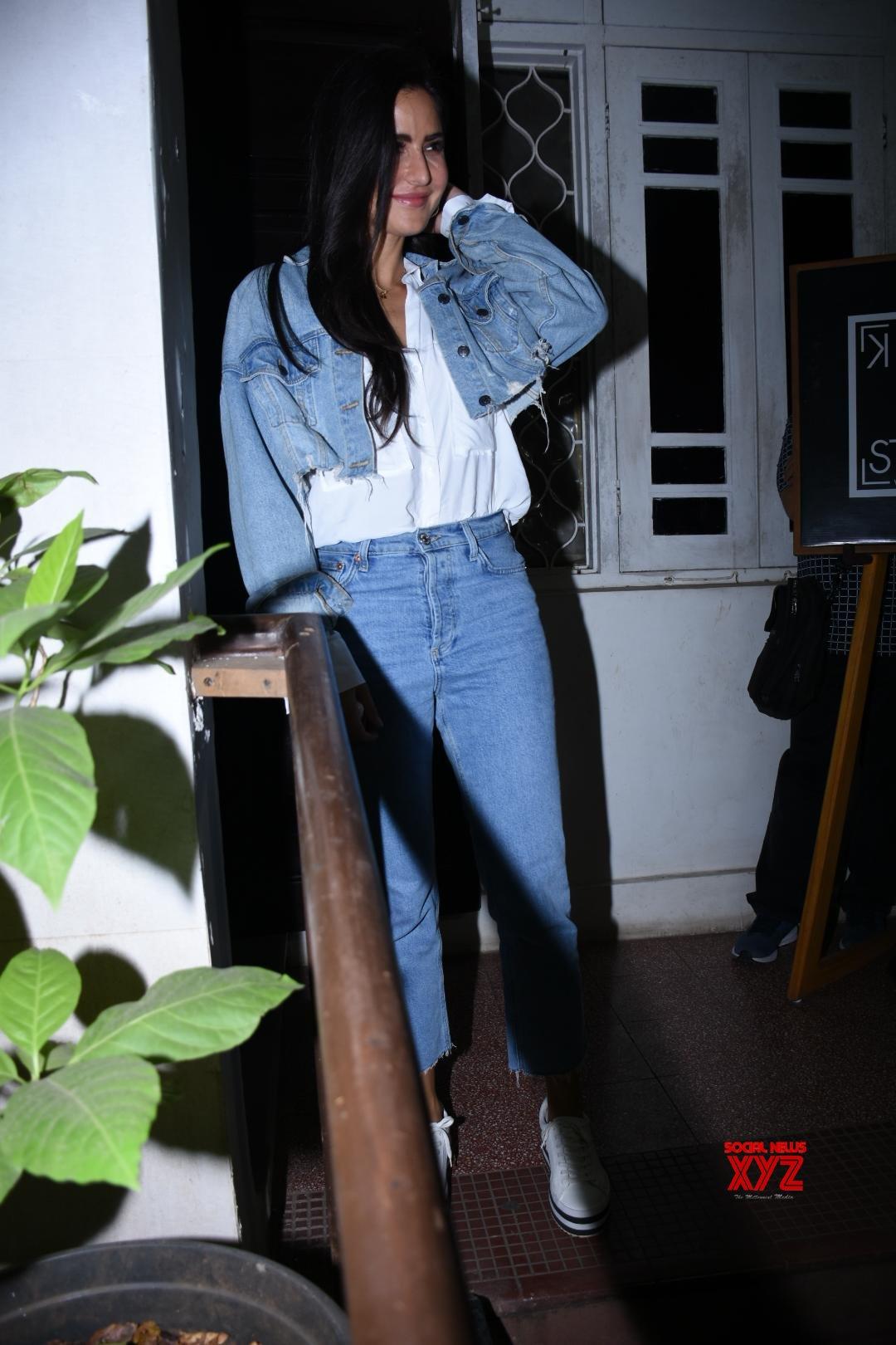 Actress Katrina Kaif Spotted At Krome Studio In Bandra - Gallery