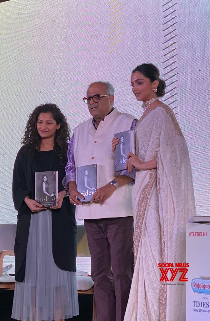 'Sridevi: The Eternal Goddess' Book Launched By Bollywood Star Deepika Padukone