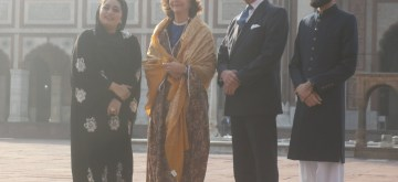 New Delhi: King Carl XVI Gustaf and Queen Silvia of Sweden during their visit to Jama Masjid in Delhi on Dec 2, 2019. (Photo: IANS)