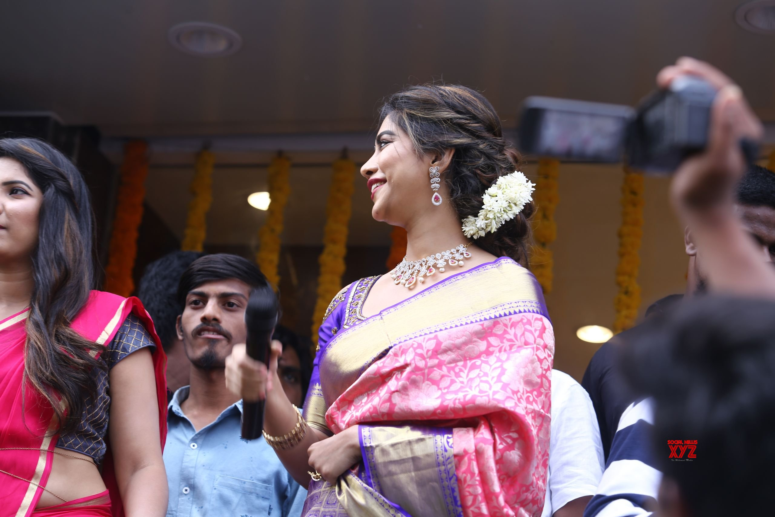 Actress Nabha Natesh Launches Chandana Brothers Shopping Mall At Jangareddigudem In AP Gallery
